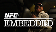 UFC Embedded is an all-access, behind-the-scenes video blog series focusing on the days leading up to the epic UFC 179: Aldo vs. Mendes 2 fight card, taking place Saturday, October 25, on Pay-Per-View.