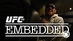UFC Embedded vous offre un accès inédit aux coulisses dans les journées précédant la présentation de l'événement UFC 179 : Aldo vs Mendes 2 le samedi 25 octobre à la télé à la carte.