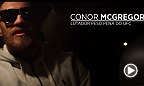 Enquanto Aldo e Chad treinavam no Rio para o UFC 179, Conor McGregor desembarcava na cidade com a língua afiada. Na saída do aeroporto, pediu se o motorista não o levaria até a favela do José e mandou dizer que irá tomar o cinturão do brasileiro.