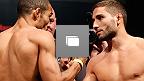 Fotos da pesagem do UFC 179 no Ginásio do Maracanãzinho em 24 de outubro, 2014 no Rio de Janeiro (Fotos de Josh Hedges/Zuffa LLC/Zuffa LLC via Getty Images)
