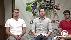 Os jornalistas Davi Correia (UFC.com.br), Guilherme Cruz (MMAFighting) , e Ivan Raupp (Combate.com), conversam sobre o card principal do UFC 179, no Rio de Janeiro. O brasileiro é favorito, mas precisa tomar cuidado com o jogo de wrestling de Chad Mendes.