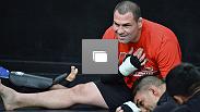 El Team Velásquez durante uno de sus entrenamientos en el gimnasio de The Ultimate Fighter Latinoamérica. (Fotos: Por Juan Cárdenas)