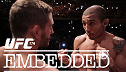 Catch up with featherweight contender Conor McGregor on the beaches of Brazil and UFC 179 stars Jose Aldo, Chad Mendes, Phil Davis and Glover Teixeira in the days leading up to their bouts in an all-new episode of UFC Embedded.