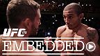 Accompagnez le poids plume Conor McGregor sur les plages du Brésil et les stars de l'UFC 179, Jose Aldo, Chad Mendes, Phil Davis et Glover Teixeira dans les jours précédant leur combat dans ce tout nouvel épisode UFC Embedded.