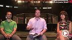 Os jornalistas Davi Correia, do UFC.com.br, Dudu Ferreira, da Tatame, Claudia Lima, da Revista VIP, conversam sobre o card principal do UFC 179, no Rio de Janeiro.   - UFC 179, ao vivo, só no Canal Combate - on.ufc.com/ufc179assita