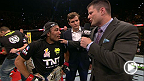 Brian Stann catches up with featherweight champion Jose Aldo and challenger Chad Mendes after their five-round brawl at UFC 179.