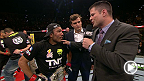 브라이언 스탠이 UFC 179에서 5라운드의 혈투를 치른 챔피언 조제 알도와 도전자 채드 멘데스를 만나보았다