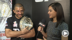 Megan Olivi chats with Jose Aldo backstage at UFC 179 after his seventh UFC title defense. The Brazilian walks fans through the last few seconds of the first round, and talks about the role of cardio against Mendes.
