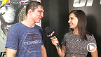 Darren Elkins reflects on his split decision victory with UFC correspondent Megan Olivi backstage at UFC 179. Elkins discusses how his time off impacted his performance and when he plans to get back into the Octagon.