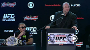 Hear from UFC President Dana White, headliners Chad Mendes and Jose Aldo, and co-main event winner Phil Davis at the UFC 179 post-fight press conference.