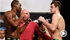 "Former Tennessee football star and light heavyweight contender Ovince Saint Preux puts Nikita Krylov to sleep using the Von Flue choke. Watch Saint Preux take on Mauricio ""Shogun"" Rua in the main event at UFC Fight Night Uberlandia."