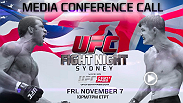Bisping and Rockhold participated in a heated media call.  Hear the entire call here.  Then watch the entire 10-fight card live and on-demand on UFCFIGHTPASS.com, the UFC's digital streaming service.