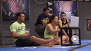 No. 12 Angela Magana sits with Gilbert Melendez to talk gameplan before her bout with Aisling Daly on an all-new episode of The Ultimate Fighter: A Champion Will Be Crowned.
