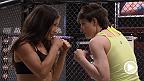 Aisling Daly et Angela Magana sont montées sur le pèse-personne en prévision de leur combat lors du tout nouvel épisode de la série The Ultimate Fighter : A Champion Will Be Crowned.
