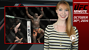 Lisa Foiles runs down all of the need-to-know news for Thursday, October 30, including four significant fight announcements made by the UFC.
