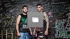 """Los peleadores mexicanos de UFC Salvador """"Dodger"""" Montaño y Juan """"Fenix"""" Puig, abren las puertas del gimnasio que los vio nacer como peleadores, Bonebreakers en la Ciudad de México para estas imágenes exclusivas. (Fotos por Wilson Fox)"""