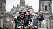 """Los peleadores mexicanos Augusto """"Dodger' Montaño y Juan """"Fenix"""" Puig hablan uno del otro, y de su relación durante los años que los han traído a la m&a"""