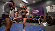 Check out Rose Namajunas' practice highlights before she takes on Alex Chambers in an all-new episode of The Ultimate Fighter: A Champion Will Be Crowned.