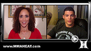 MMA H.E.A.T.'s Karyn Bryant catches up with UFC Welterweight Alan Jouban before his fight with Warlley Alve in Uberlândia, Brazil. Alan talks abut his successful UFC debut against Seth Baczynzki, and training with Lyoto Machida at Black House.