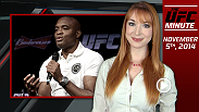 UFC Minute host Lisa Foiles runs down the need-to-know news for Wednesday, November 5th, including an all-new Ultimate Fighter: A Champion Will Be Crowned, a new fight for Diego Brandao, and Anderson Silva's back injury.