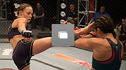 Photos from the seventh episode of The Ultimate Fighter: A Champion Will Be Crowned, featuring the bout between Rose Namajunas and Alex Chambers.