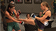 Relive the fight between Rose Namajunas and Alex Chambers in photos.