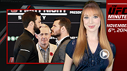 UFC Minute host Lisa Foiles runs down all the need-to-know news for Thursday, November 6, including the Fight Night Sydney weigh-in, and the UFC's new The Time Is Now campaign.