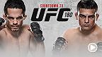UFCカウントダウンは、メキシコシティにおける歴史的大会に参戦する4人の選手を追跡。セミファイナルにて、無敗のウェルター級戦士ケルヴィン・ガステラムは、両親の母国に凱旋し強豪のジェイク・エレンバーガーと闘う。