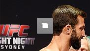 UFC Fight Night Sydney Weigh-In on November 7th, 2014 in Sydney, Australia (Photos by Josh Hedges/Zuffa LLC/Zuffa LLC via Getty Images)