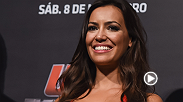 Before entering the MMA world as one of the UFC's beautiful Octagon girls, Luciana Andrade studied law and modeled. See outside the Octagon at Fight Night Uberlandia.