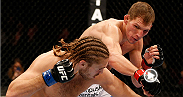 As one of the tallest middleweight fighters, Luke Barnatt uses his length to his advantage and takes the back of Andrew Craig, sinking in a rear naked choke. Watch Barnatt take on Roger Narvaez during the prelims at UFC Fight Night Austin.