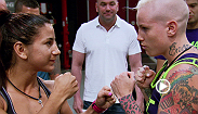 A group of Team Melendez fighters decide they want Tecia to move out of their room. Then, in the final preliminary fight of the tournament Team Melendez sends Bec Rawlings against #3 ranked Tecia Torres for a chance to advance to the quarterfinals.