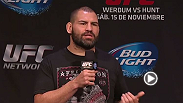 Watch the Q&A with UFC heavyweight champ Cain Velasquez.