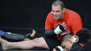 UFC heavyweight champion Cain Velasquez sits down with UFC correspondent Megan Olivi to talk about his stint as head coach on The Ultimate Fighter: Latin America.