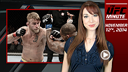 Lisa Foiles updates fans on the big matchup between Alexander Gustafsson and Anthony Johnson and the latest episode The Ultimate Fighter.
