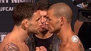 Watch the official weigh-in for UFC Fight Night: Edgar vs. Swanson