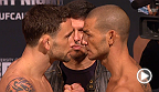Watch the official weigh-in for UFC Fight Night: Edgar vs. Swanson, live Friday, November 21 at 11pm CET.