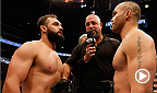 For the first time in six years, the welterweight belt is up for grabs. Top contenders Johny Hendricks and Robbie Lawler battle it out to see who will become the new champion. Hendricks and Lawler go at it again in a rematch for the belt at UFC 181.