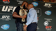 "Three championship cards to kick off 2015! Jan. 3rd at the MGM Grand Las Vegas: Jon ""Bones"" Jones versus Daniel Cormier. Jan. 31st Anderson Silva versus Nick Diaz. And Feb 28th Chris Weidman vs. Vitor Belfort and ""Rowdy"" Ronda Rousey vs. Cat Zingano."