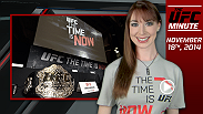 UFC Minute host Lisa Foiles updates fans on the Time Is Now Campaign and the headlining bout at Fight Night Broomfield between Matt Brown and Tarec Saffiedine.
