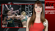 UFC Minute host Lisa Foiles takes a look at an exciting welterweight matchup scheduled for the co-main event of UFC 183 and previews tonight's episode of The Ultimate Fighter!
