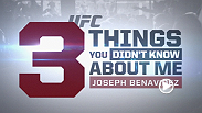 Get to know bantamweight contender Joseph Benavidez, who claims he is a pretty decent volleyball player. Watch him in the Octagon this Saturday at Fight Night Austin!