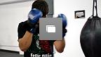 """El mexicano Juan """"Fenix"""" Puig se encuentra listo para su segunda pelea en UFC en la ciudad de Austin, y captamos algunas imágenes de su entrenamiento en la Ciudad de México. (Fotos por Juan Cárdenas)"""