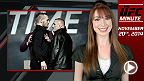 UFC Minute host Lisa Foiles updates fans on Holly Holm's replacement for UFC 181 and reveals how you can get your tickets for Fight Night Boston: McGregor vs. Siver!