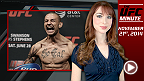 UFC Minute host Lisa Foiles updates fans on the Fight Night Austin weigh-in and how to get tickets to UFC 182, UFC 183, and UFC 184!
