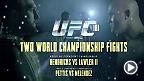 Le champion des poids mi-moyens, Johny Hendricks, et le vétéran Robbie Lawler, s'affrontent lors d'un des combats revanches les plus attendus de l'histoire de l'UFC. Anthony Pettis mettra son titre en jeu contre Gilbert Melendez à l'UFC 181 le 6 décembre.