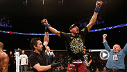 Edson Barboza spoke with UFC commentator Jon Anik inside the Octagon after his win over Bobby Green at Fight Night Austin.