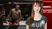 Lisa Foiles updates fans on Ultimate Fighter season 19 winner Corey Anderson's new opponent for UFC 181 and the UFC's return to the Prudential Center in New Jersey.