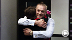 Featherweight contender Conor McGregor surprises fellow Dublin native Aisling Daly at The Ultimate Fighter gym before her bout against Jessica Penne.