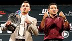 UFC 181に参戦するMMA界の4人のトップファイターにUFCカウントダウンのカメラが密着。元WEC王者、そして今はUFC王者のアンソニ・ペティスが保持するライト級タイトルを賭けて対戦する元Strikeforce王者のギルバート・メレンデスとの一戦に備える。